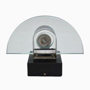 Applique in vetro e metallo, Svizzera, anni '80