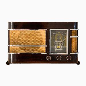 Radio Integra vintage con altavoz Bluetooth de Charlestine, 1937