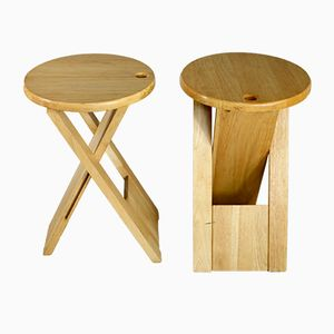 Vintage Stools by Roger Tallon for Sentou, Set of 2