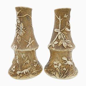 Große antike Vasen von Henry Tooth für Bretby, 1900er