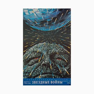 Affiche Star Wars par Yuri Bokser, 1990
