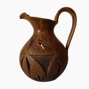 Lampada a forma di brocca in resina e ceramica di Accolay, anni '50