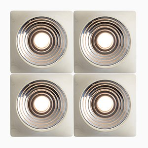 Ceiling Lights from Stilnovo, 1960s, Set of 4