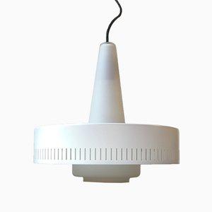 Lampe à Suspension Mid-Century par Bent Karlby pour Lyfa, 1950s