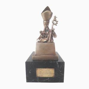 Sculpture Saint Narcisse des Mouches Vintage en Bronze par Salvador Dalí