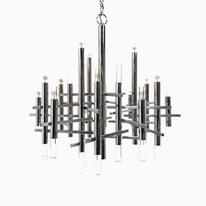 Modernist Chandelier by Gaetano Sciolari for Sciolari, 1970s