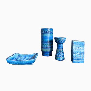 Italian Ceramic Set by Aldo Londi for Bitossi