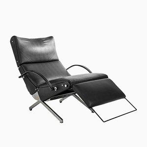 Chaise longue P40 di Osvaldo Borsani per Tecno, anni '50