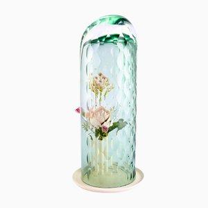 Hohe OP-Vase in Grün von Bilge Nur Saltik für Form&Seek