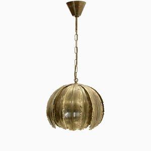 Lampada da soffitto Poppy di Svend Aage Holm per Holm Sørensen, anni '70