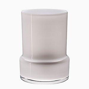 Vase Glanced Rock Blanc par Artis Nimanis pour an&angel