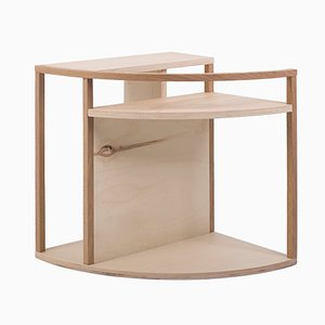 Meja Multi-Purpose Side Table in Poplar & Oak from Studio Nuance