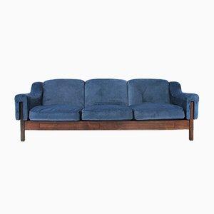 Italienisches 3-Sitzer Sofa aus Samt von Ipar, 1960er