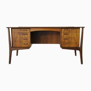 Danish Rosewood Desk by Svend Aage Madsen for Sigurd Hansens Møbelfabrik, 1960s