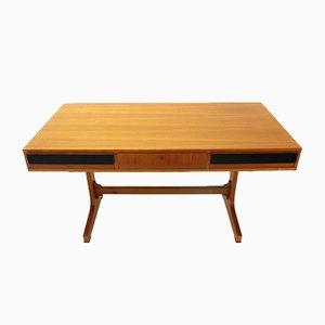 Italienischer Schreibtisch aus Teak, 1960er