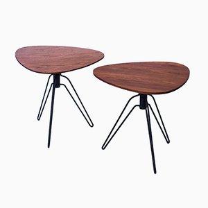 Tables d'Appoint par Hans Agne Jakobsson, 1950s, Set de 2