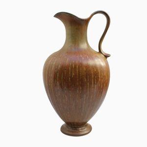 Jarra de cerámica de Gunnar Nylund para Rörstrand, años 50