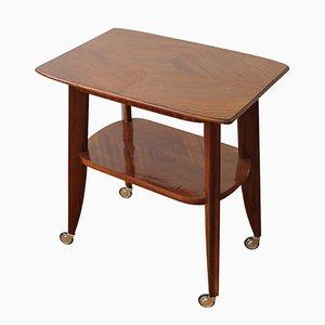 Tavolo di servizio vintage in mogano