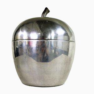 Cubitera italiana vintage en forma de manzana, años 70
