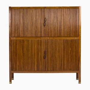 Walnut Cabinet by Carl-Axel Acking for Nordiska Kompaniet, 1950s