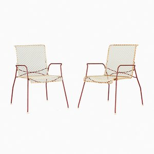 Garden Chairs from Grythyttan, 1950s, Set of 2