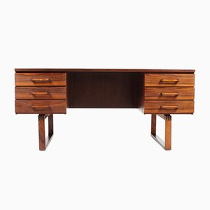 Mid-Century Danish Desk in Rosewood, 1950s