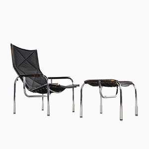 Lounge Chair & Ottoman by Hans Eichenberger for Strässle, 1960s