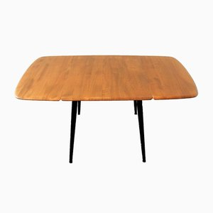 English Wooden Drop-Leaf Dining Table by Lucian Ercolani for Ercol, 1960s