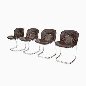 Italienische Sabrina Chairs von Gastone Rinaldi für Rima, 1970er, 4er Set