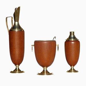 Set pour Cocktails Mid-Century par Aldo Tura, 1950s
