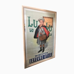 Affiche Lithographiée du Petit Écolier de Daude, 1938