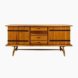 French Pine Sideboard, 1960s