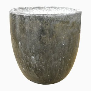 Vaso vintage floreale, anni '40