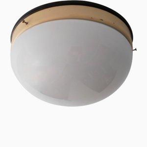 Lámpara de techo Bauhaus vintage, años 30