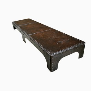 Table Basse Industrielle Antique
