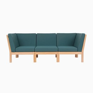 GE280 3-Seater Sofa by Hans J. Wegner for Getama, 1980s