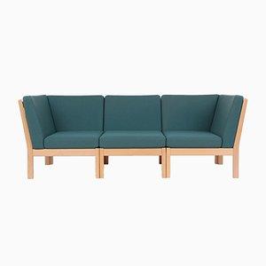 GE280 3-Sitzer Sofa von Hans J. Wegner für Getama, 1980er