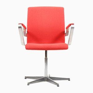 Sedia da scrivania Oxford vintage di Arne Jacobsen per Fritz Hansen