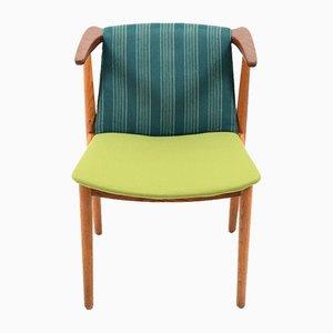 Danish Teak & Oak Desk Chair, 1950s