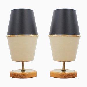 Mid-Century German Rocket Table Lamps, 1960s, Set of 2