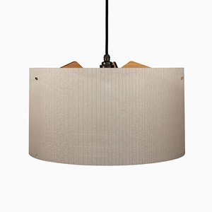 Large Beige Straight Pendant from Studio Nahtlos