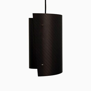 Small Black Asymetric Pendant from Studio Nahtlos