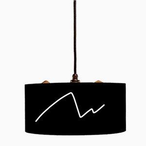 Lampada a sospensione con design a piacere di Studio Nahtlos
