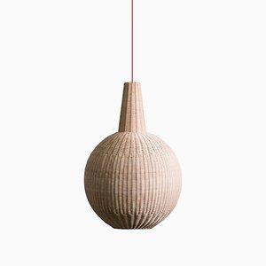 Lampe à Suspension Sfera par Maurizio Bernabei pour Bottega Intreccio