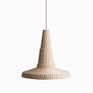 Lampe à Suspension Cocolla par Maurizio Bernabei pour Bottega Intreccio
