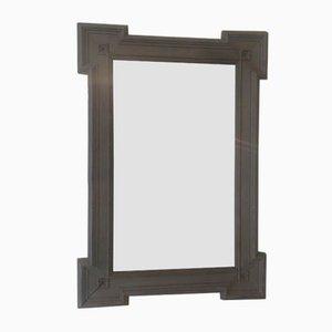 Miroir Gris Foncé Antique