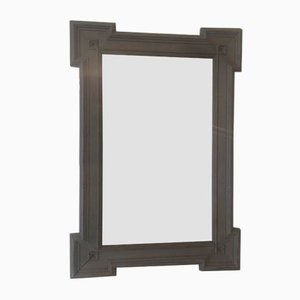 Specchio antico grigio scuro