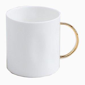 Gold Tea Mug by Feldspar