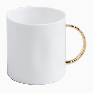 Taza de té con oreja dorada de Feldspar