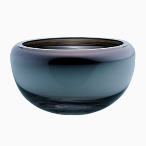 Small Round Deco Mirror Bowl by Artis Nimanis for an&angel